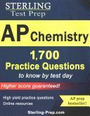 Sterling Ap Chemistry 1,700+ Practice Questions