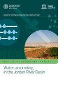 Water accounting in the Jordan River Basin