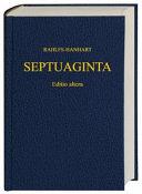 Παλαια διαθηκη κατα τους Εβδομηκοντα (70) (Septuaginta)