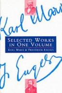 Karl Marx and Frederick Engels Book