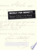 'Merely for Money'?