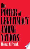 The Power of Legitimacy Among Nations