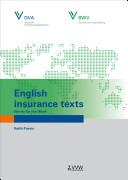 English insurance texts