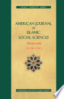 American Journal Of Islamic Social Sciences 27 3