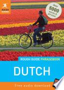 Rough Guide Phrasebook Dutch