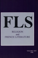 Religion and French Literature