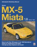 Mazda MX 5 Miata 1 8 Enthusiast   s Workshop Manual