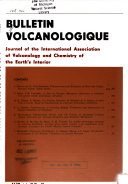 Bulletin volcanologique