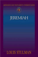 Abingdon Old Testament Commentaries  Jeremiah