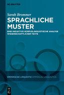 Sprachliche Muster in Wissenschaftlichen Texten