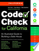 Code Check for California  : An Illustrated Guide to Building a Safe House