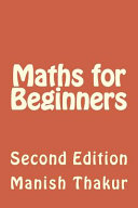 Maths for Beginners