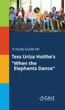 Pdf A Study Guide for Tess Uriza Holthe's