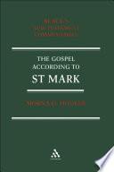 Gospel According To St  Mark