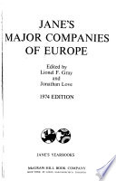 Jane's Major Companies of Europe