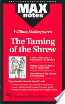 William Shakespeare s The Taming of the Shrew Book