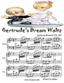 Gertrude   s Dream Waltz   Easy Piano Sheet Music Junior Edition