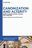 Canonization and Alterity [Pdf/ePub] eBook