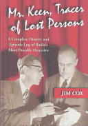 Mr  Keen  Tracer of Lost Persons Book