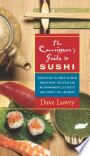 The Connoisseur s Guide to Sushi Book PDF
