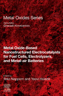 Metal Oxide Based Nanostructured Electrocatalysts For Fuel Cells Electrolyzers And Metal Air Batteries Book PDF