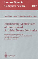 Engineering Applications of Bio-Inspired Artificial Neural Networks