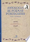 Antologia de poemas portugueses para a juventude