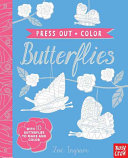 Press Out and Color  Butterflies