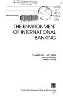 The Environment of International Banking