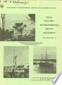 Proposed 1983 Outer Continental Shelf Oil and Gas Lease Sale Offshore Central California
