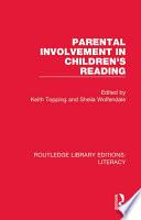 Parental Involvement in Children s Reading