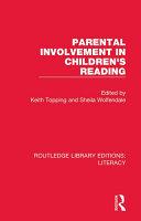 Parental Involvement in Children's Reading