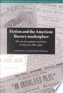 Fiction And The American Literary Marketplace