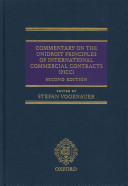Commentary On The Unidroit Principles Of International Commercial Contracts Picc