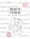 Sudoku Book For Adults In Love 500 Easy Puzzles