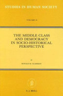 Pdf The Middle Class and Democracy in Socio-Historical Perspective