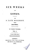 Six weeks at Long's. By a late resident [i.e. E. S. Barrett]. Second edition