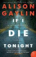 If I Die Tonight [Pdf/ePub] eBook