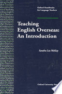 Teaching English Overseas An Introduction