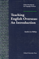 Teaching English Overseas: An Introduction