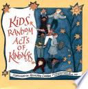 Kids  Random Acts of Kindness