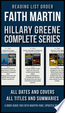 Reading List Order of Faith Martin Hillary Greene Series