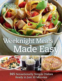 Weeknight Meals Made Easy Book