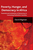 Poverty  Hunger  and Democracy in Africa