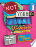 Not Your Usual Workbook  Grade 1 Book