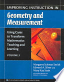 Improving Instruction In Geometry And Measurement