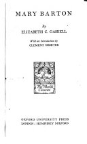 The Novels and Tales of Mrs. Gaskell: Mary Barton. [1935 Pdf/ePub eBook
