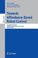 Towards Affordance Based Robot Control