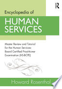 Encyclopedia of Human Services Book