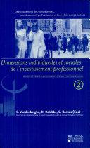 Développement des compétences, investissement professionnel et bien-être des personnes (Volume 2)